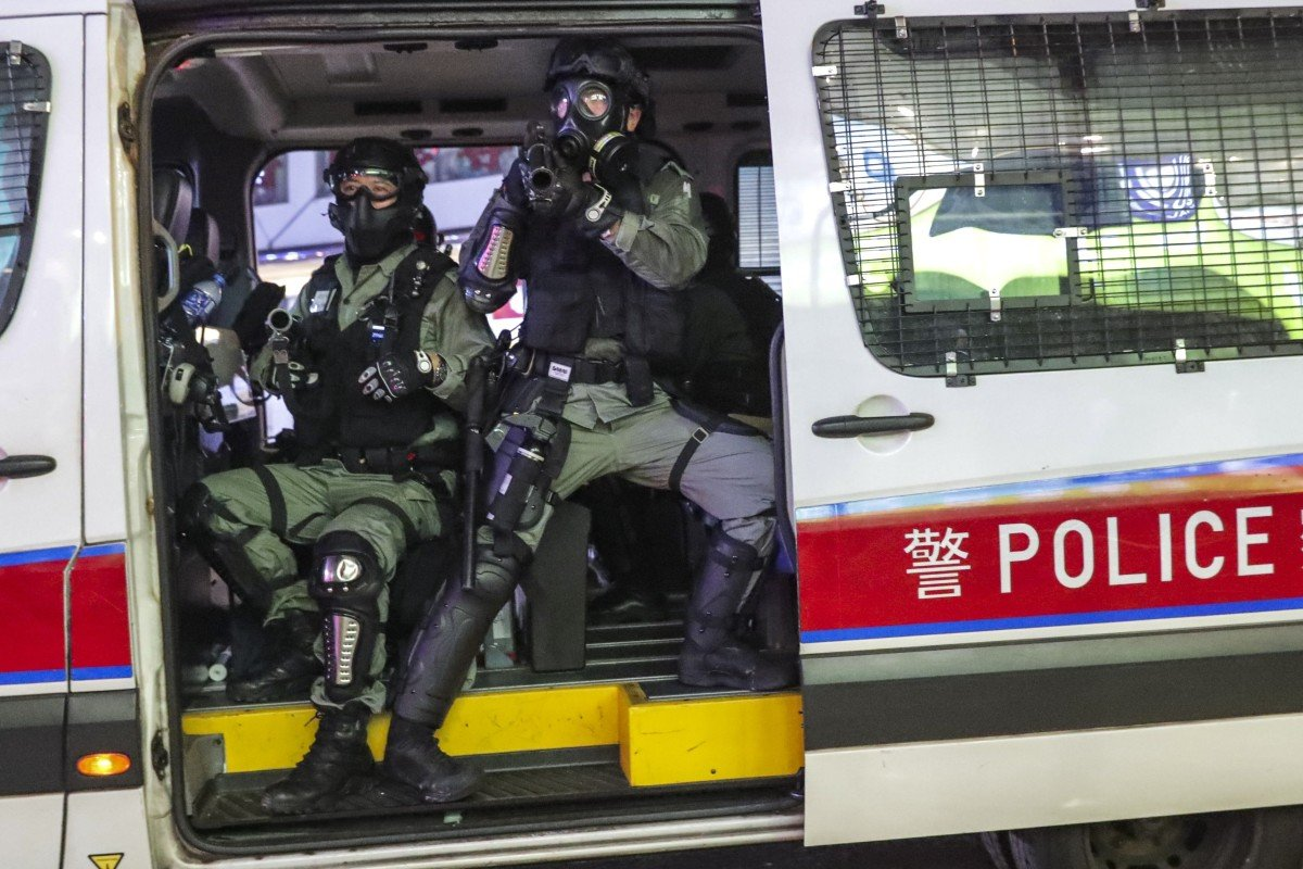 Hong Kong protests: can other disciplined services lend manpower support to city's beleaguered police force?
