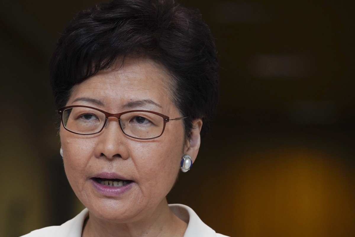 'Not feasible to relaunch a debate on universal suffrage now,' Hong Kong leader Carrie Lam tells EU...