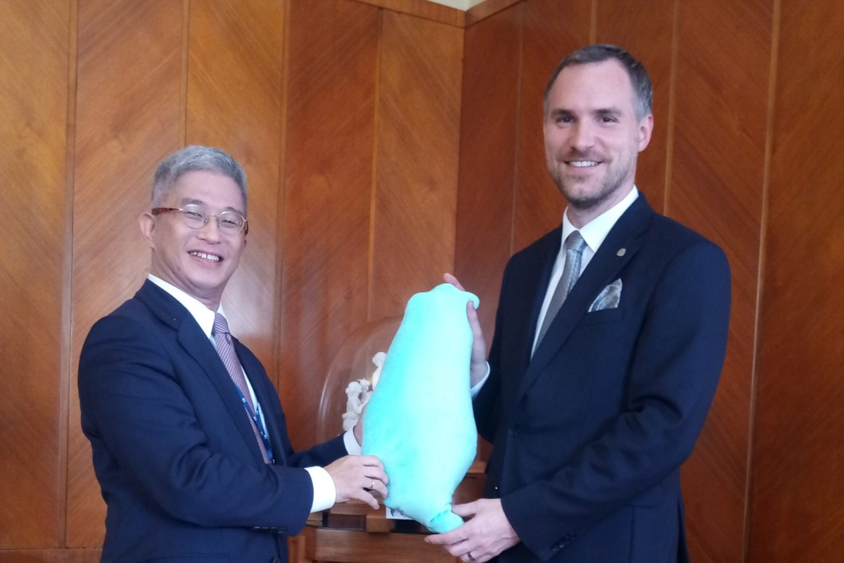 Taiwan sends presidential envoy to boost Czech ties after Prague moves to scrap sister city agreement with...