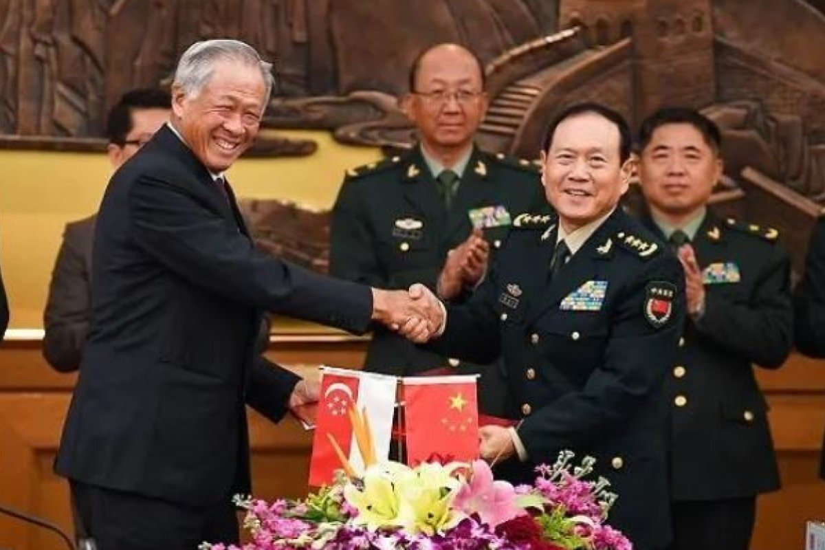 Singapore and China sign agreement to boost defence cooperation