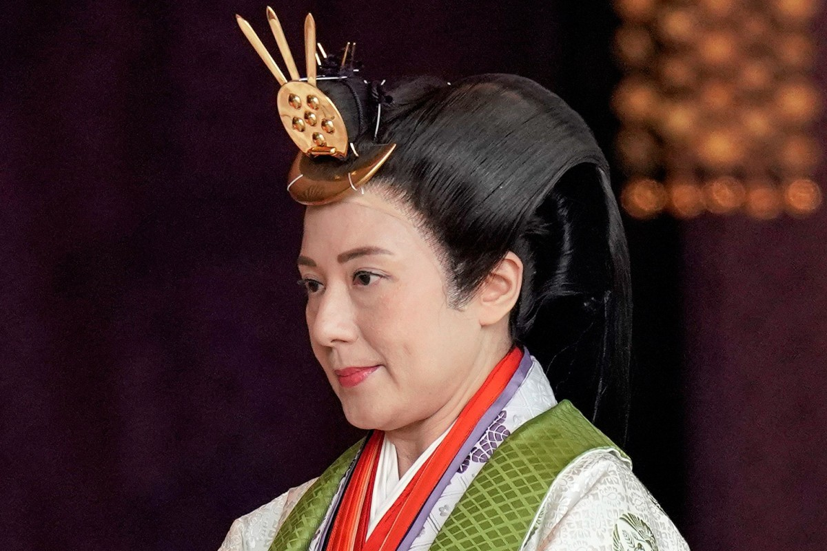 Japan S Emperor Naruhito Publicly Proclaims His Enthronement To The World In Centuries Old Ceremony South China Morning Post
