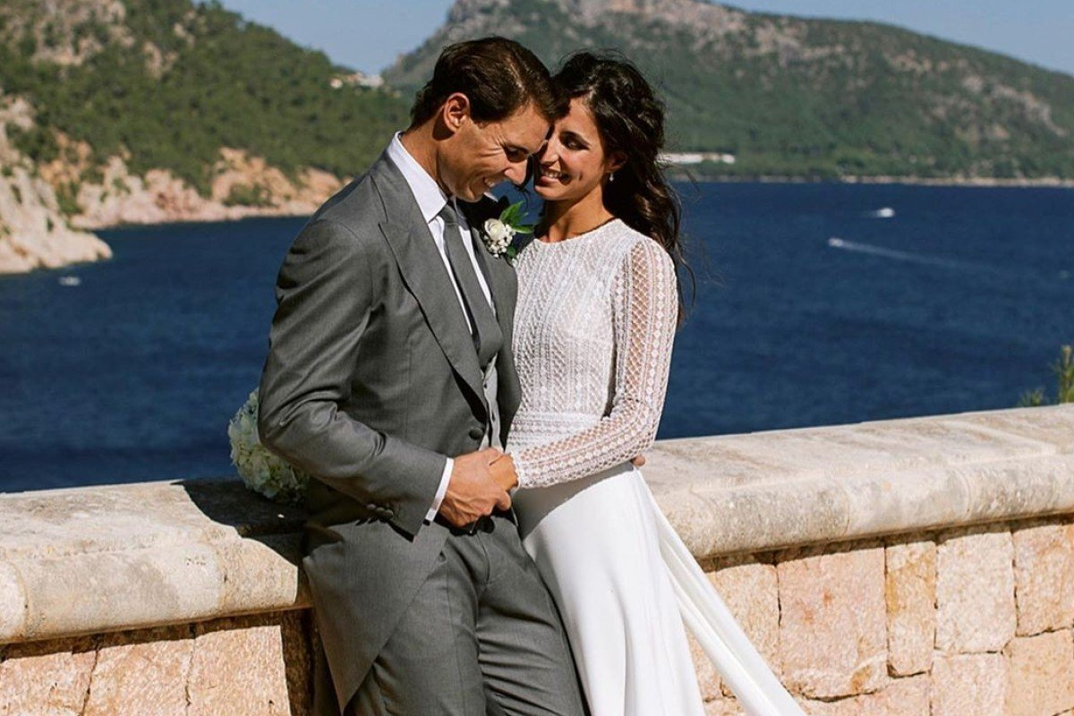 Image result for nadal wedding photos""