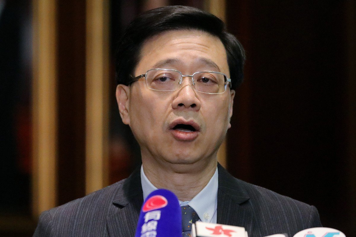 John Lee, secretary for security, officially withdrew the extradition bill on Wednesday. Photo: May Tse