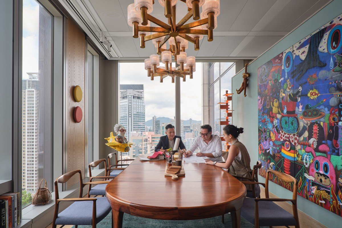 A Hong Kong Office That Feels Like Home Design Duo Behind