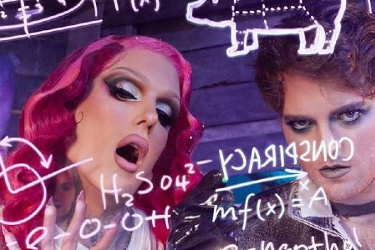 LGBTQ+ icons Jeffree Star and Shane Dawson have both made millions from YouTube. Photo: Instagram