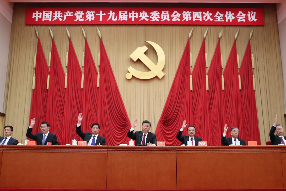China's Communist Party elite wrap up meeting with pledge to safeguard national security in Hong Kong