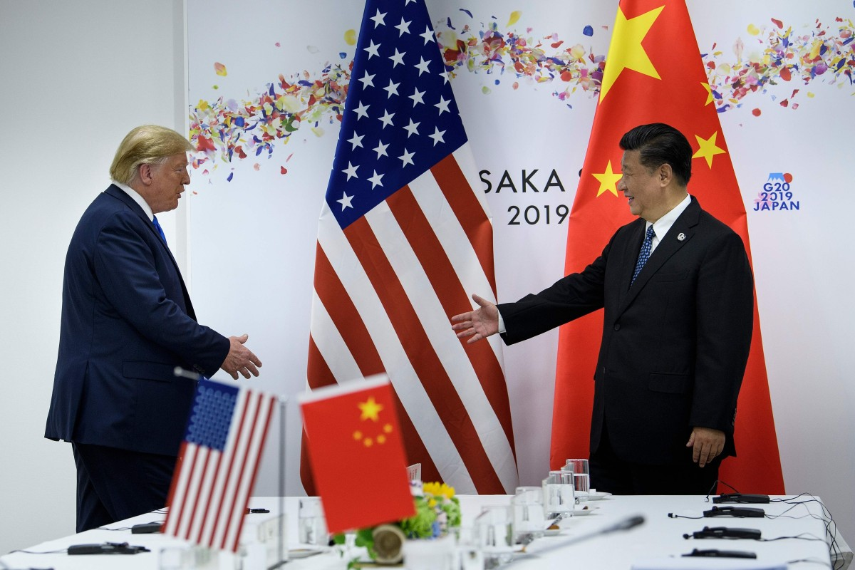 El presidente de los Estados Unidos, Donald Trump, y Xi Jinping no se reunirán en Santiago el próximo mes, pero los negociadores comerciales de sus países hablarán el viernes.  Foto: AFP