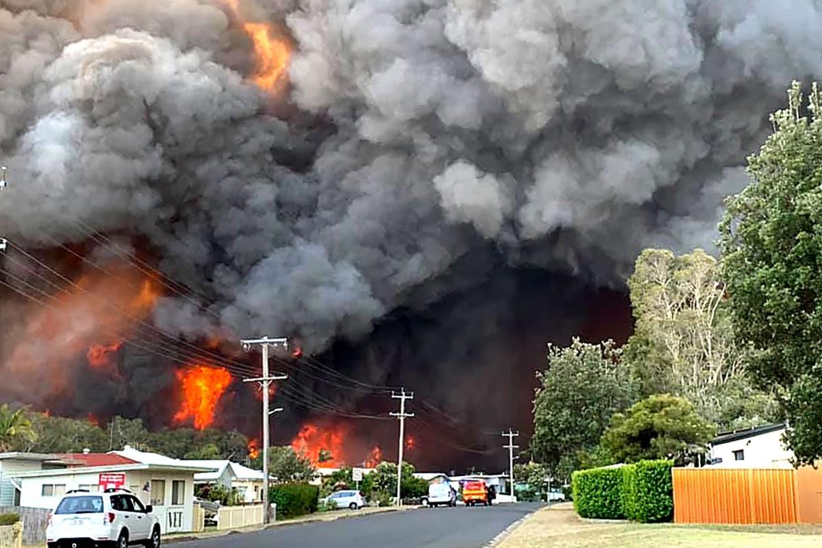 Image result for australia bush fire