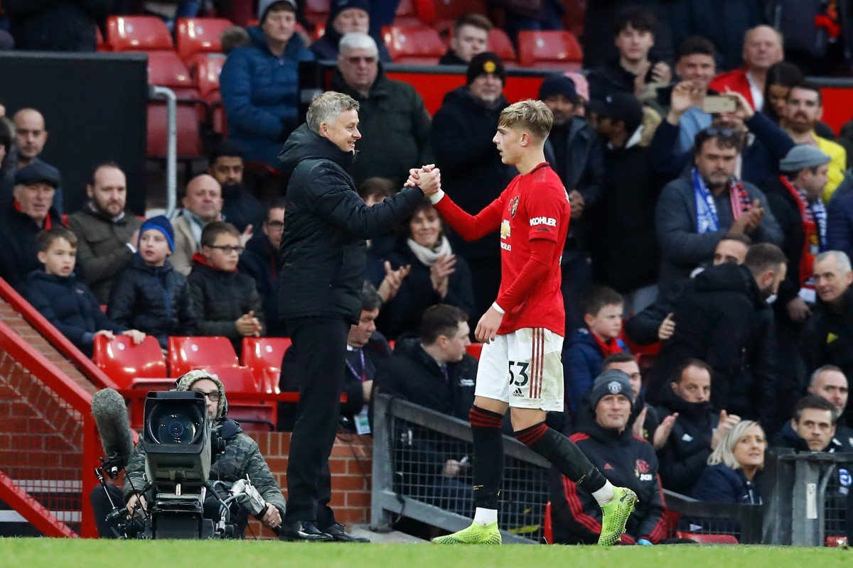 Manchester United's Brandon Williams impressing Old Trafford, Ole Gunnar Solskjaer and former left backs