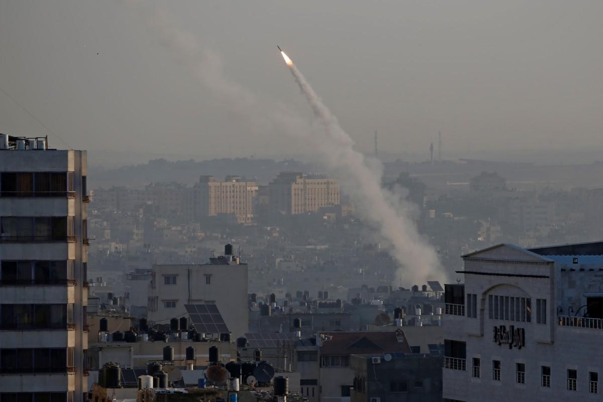 Militants retaliate with rockets after Israel kills ... Rockets Gaza Strip Israel