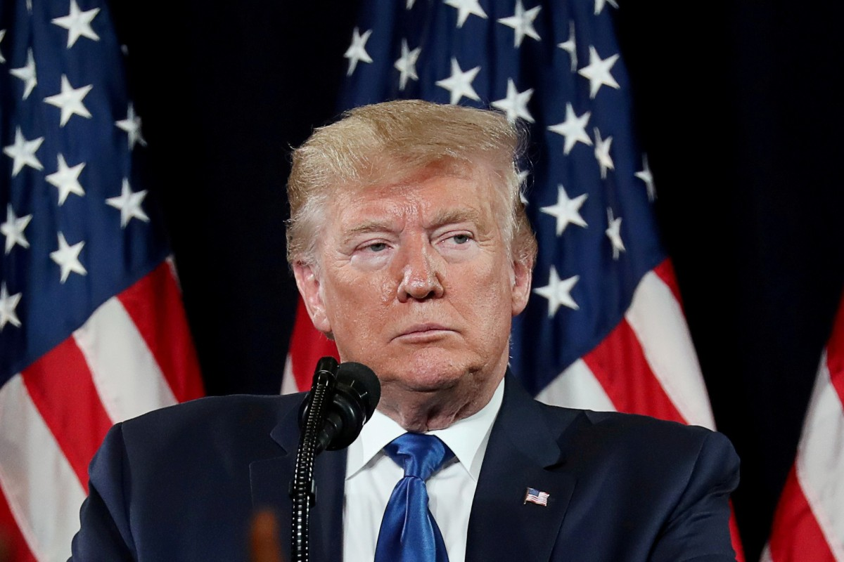 US President Donald Trump is facing numerous challenges, including public impeachment hearings, which began on Wednesday. Photo: Reuters