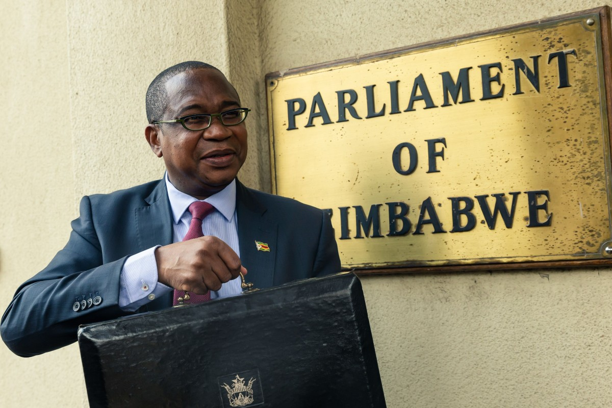 Zimbabwe's Finance Minister Mthuli Ncube upset the Chinese embassy in Harare with his budget report. Photo: AFP