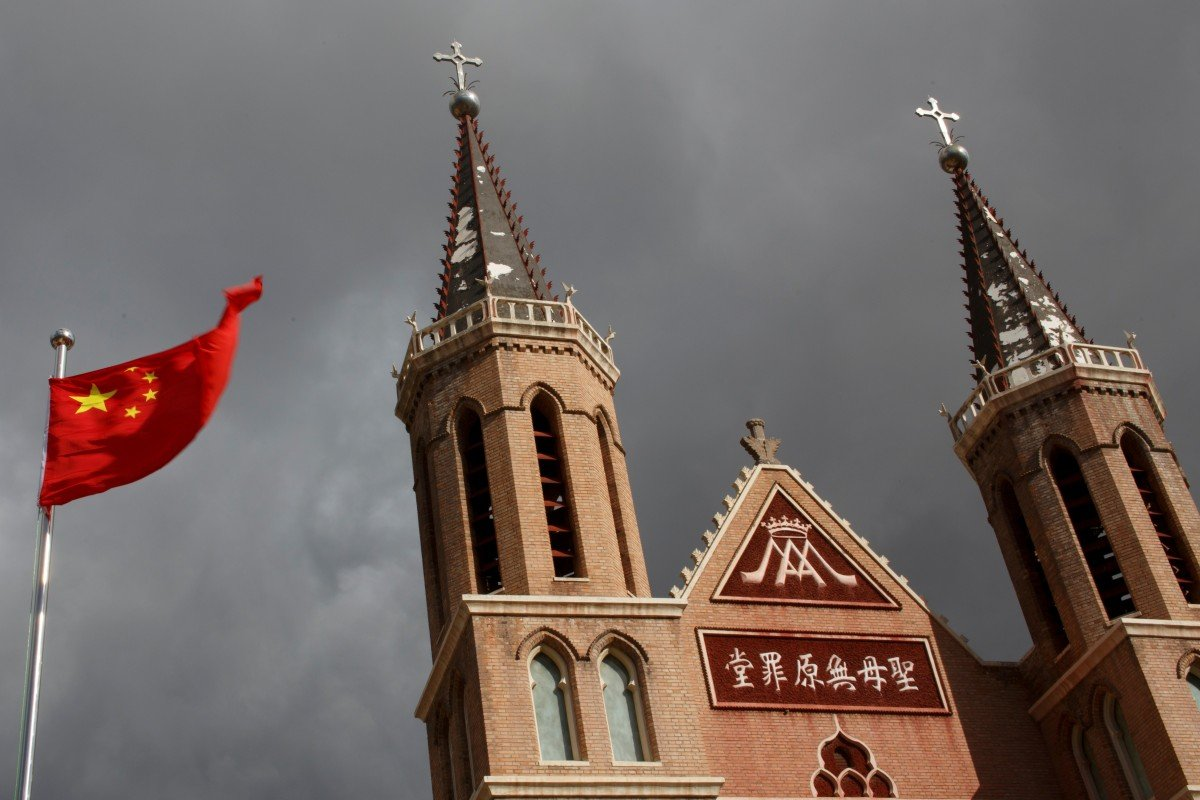 "China is seeking to develop ""theology with Chinese characteristics"" and make religion more compatible with socialism. Photo: Reuters"