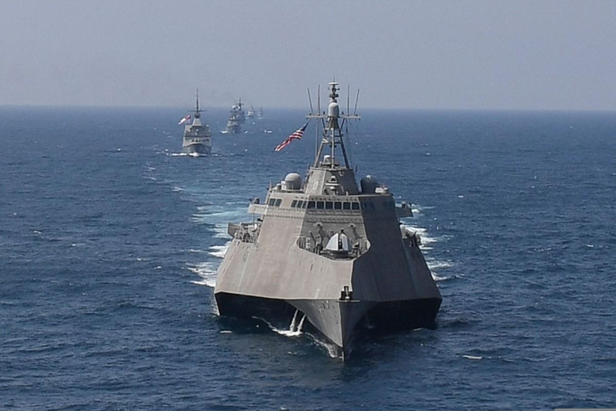 Beijing está suspendiendo su proceso de revisión de las solicitudes de buques de la Marina de los EE. UU. Para visitar Hong Kong.  Foto: AFP