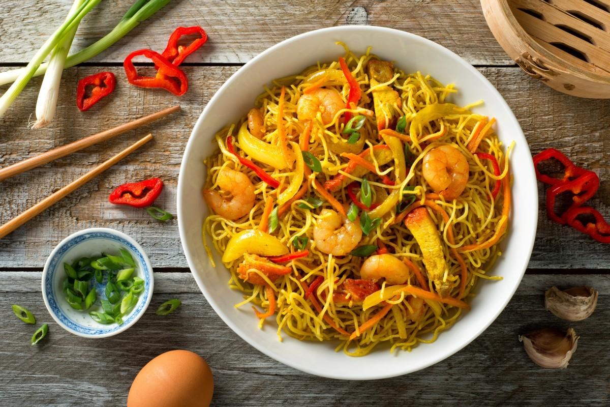 Foods: Singapore-style Noodles