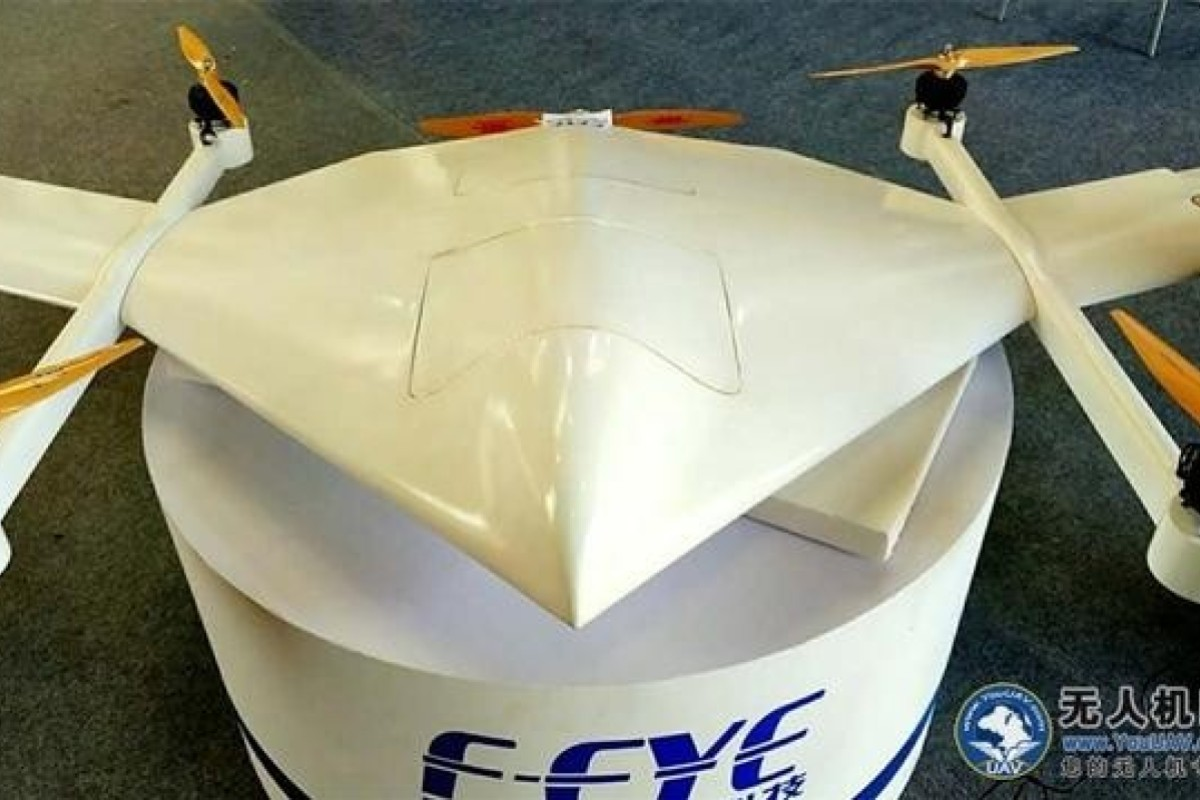 Scientists created a methanol fuelled battery for the long-endurance Feye FY-36 drone. Handout