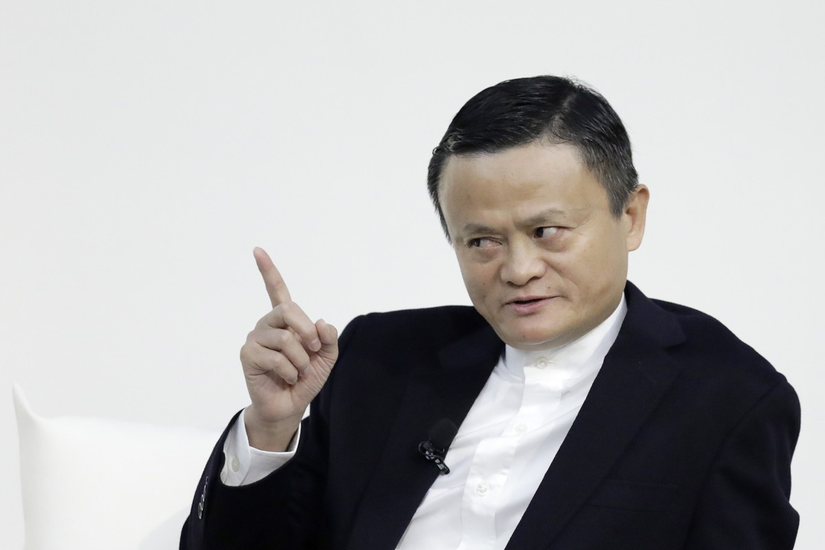 "Jack Ma told the conference the world was ""entering a period of great change and the Chinese economy is facing huge adjustment"". Photo: Bloomberg"