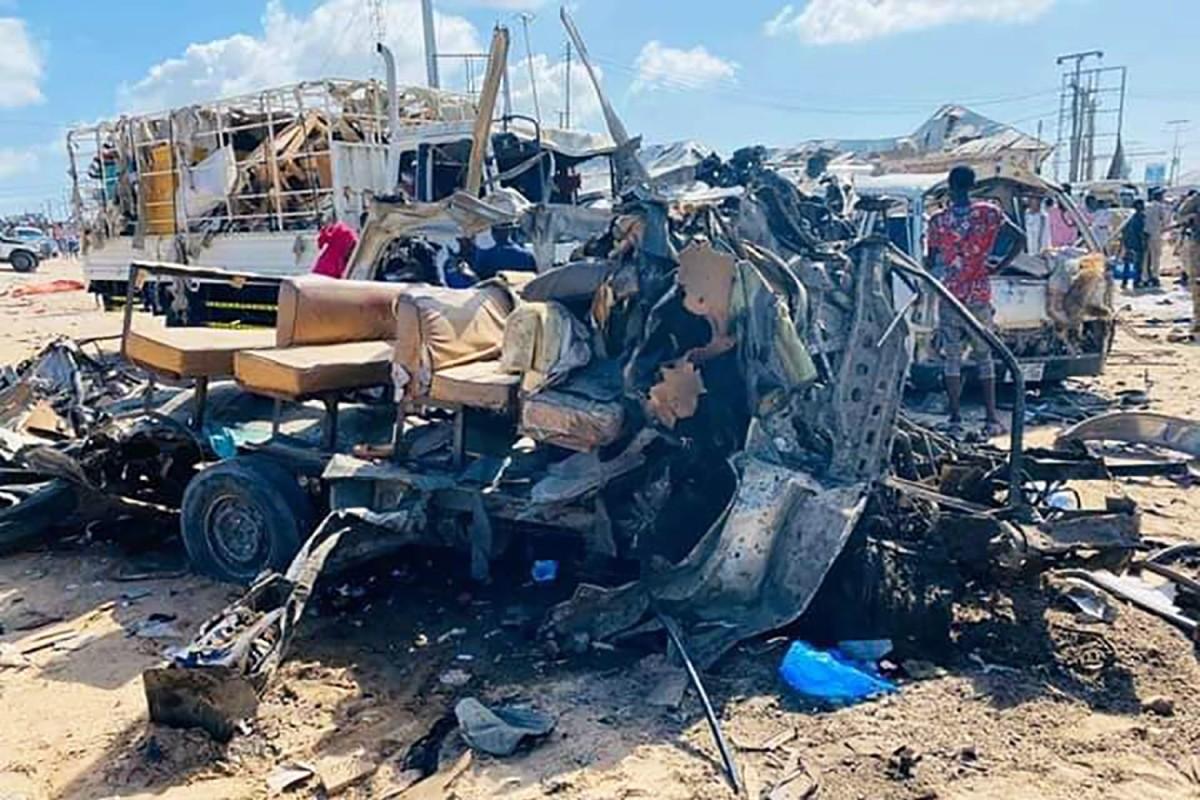 Image result for Car bomb explosion kills 79 in Mogadishu