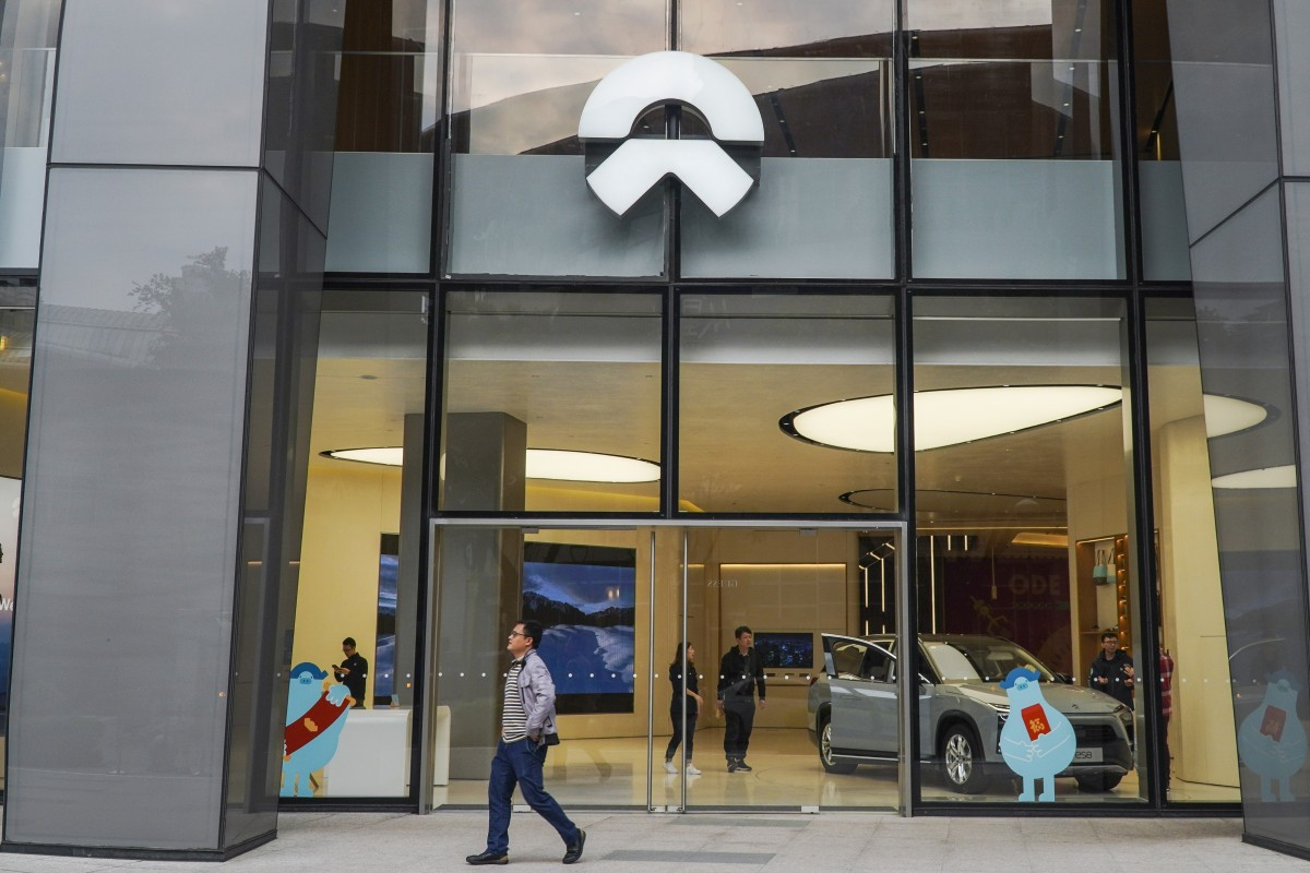 While NIO has cut thousands of jobs and started to scale back marketing expenditures, its finances remain strained. File photo: SCMP / Roy Issa