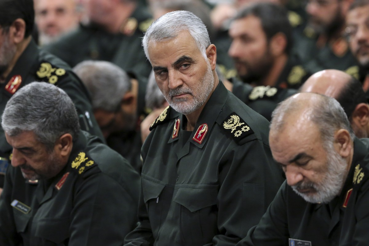 Iranian Revolutionary Guard General Qassem Soleimani. Photo: AP
