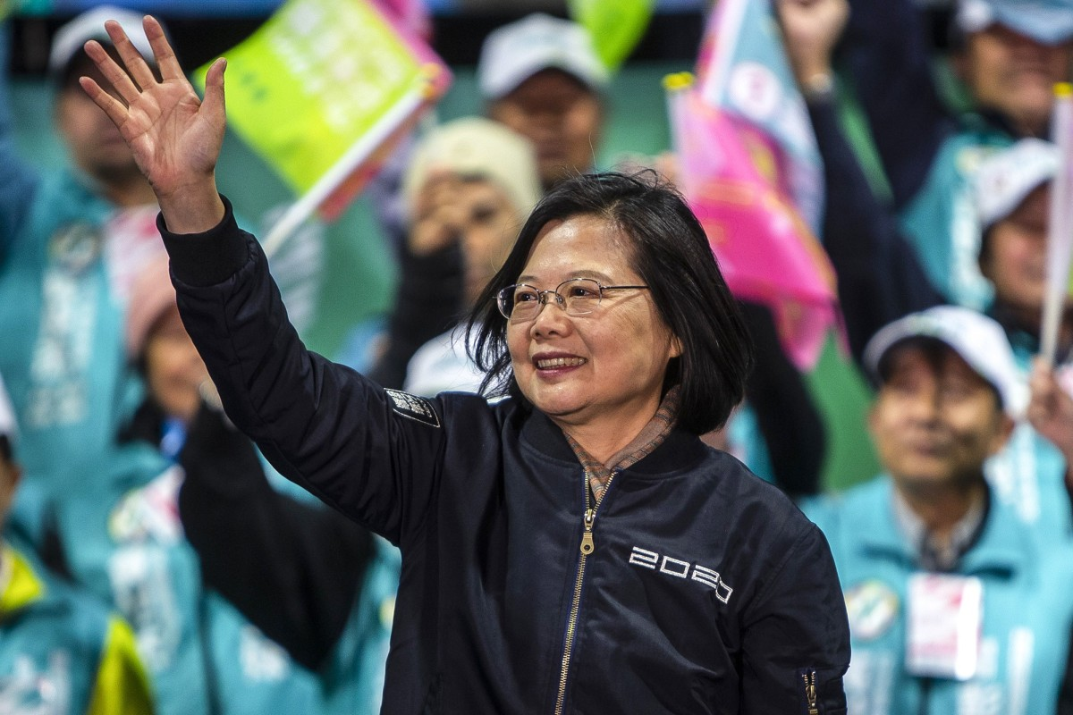 Tsai Ing-wen has been re-elected as Taiwan's president. Photo: TNS