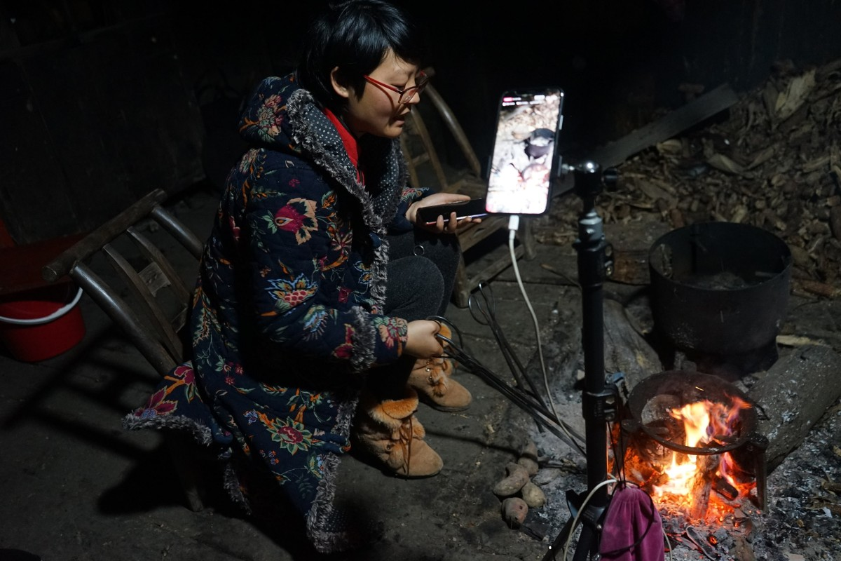 Farmer Chen Jiubei helped lift her family and village out of poverty through live streaming sales on Taobao. Photo: Handout