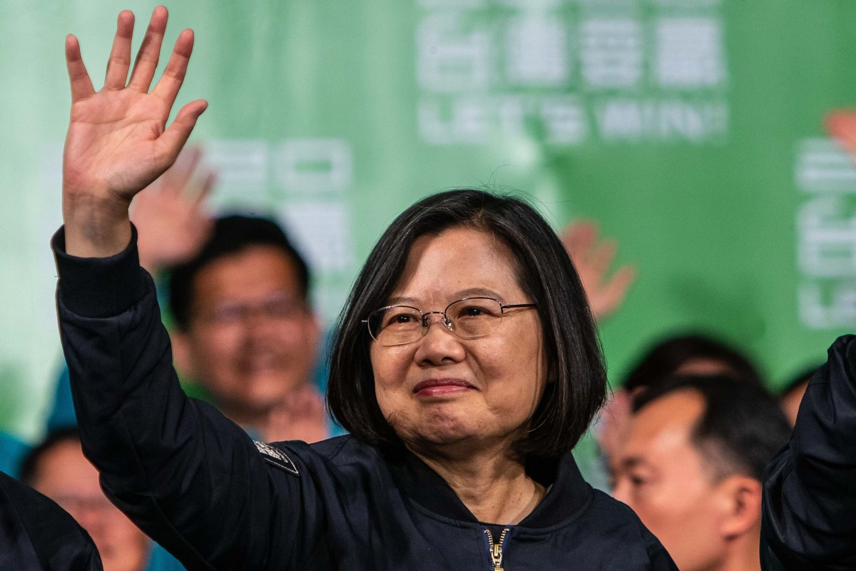 China 'will continue to oppose Taiwan independence' after Tsai Ing-wen's election victory