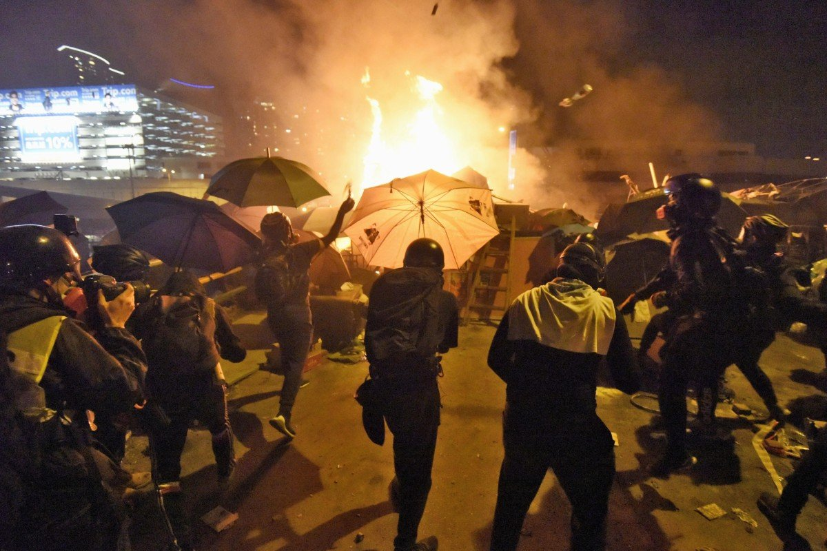 Hong Kong protests will inspire world even if they fail, history professor writes in book about unrest, the...