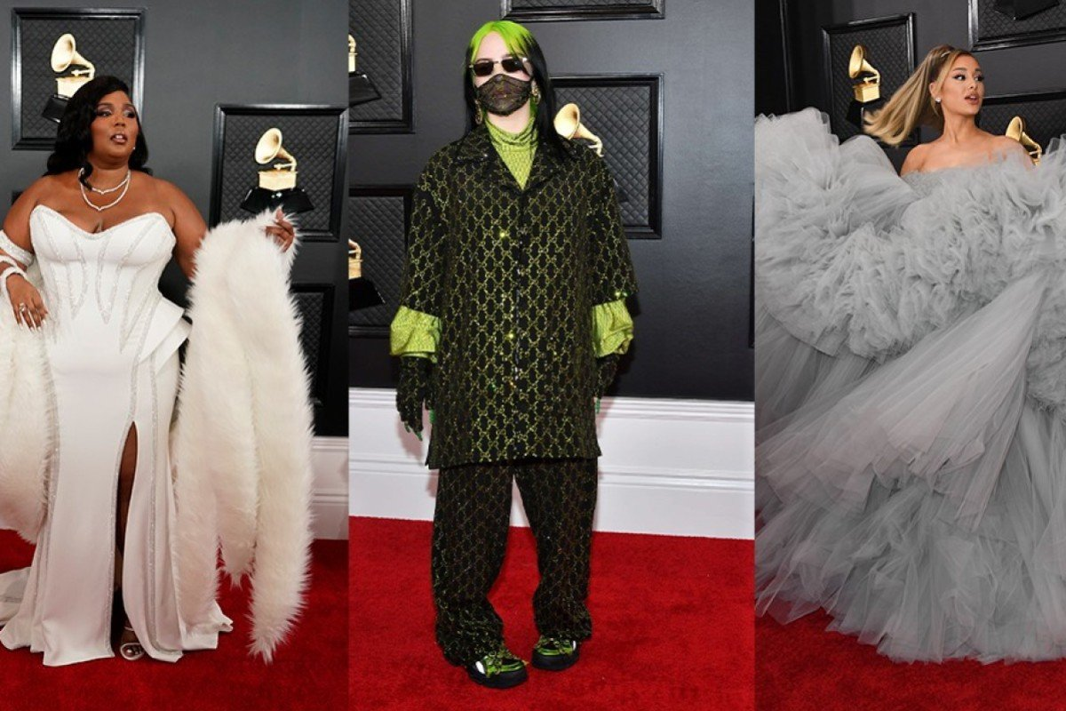 grammys 2020 best and worst dressed billie eilish ariana grande lizzo who hit and who missed on the red carpet south china morning post grammys 2020 best and worst dressed