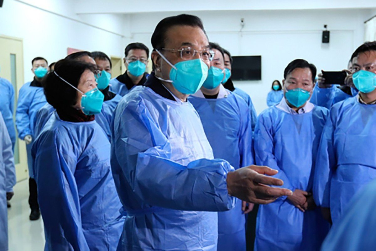 Chinese Premier Li Keqiang arrives in Wuhan to lead coronavirus fight
