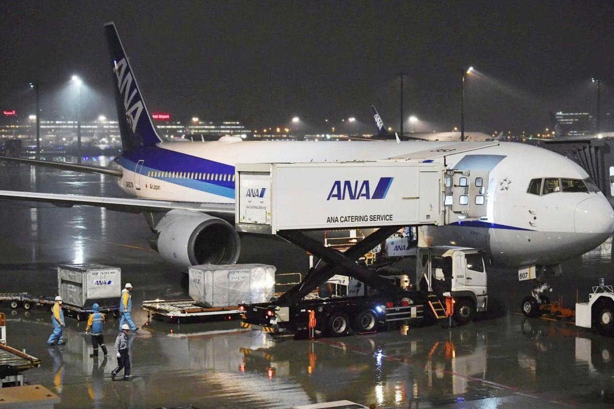 Pesawat carteran untuk evakuasi warga negara Jepang di Wuhan