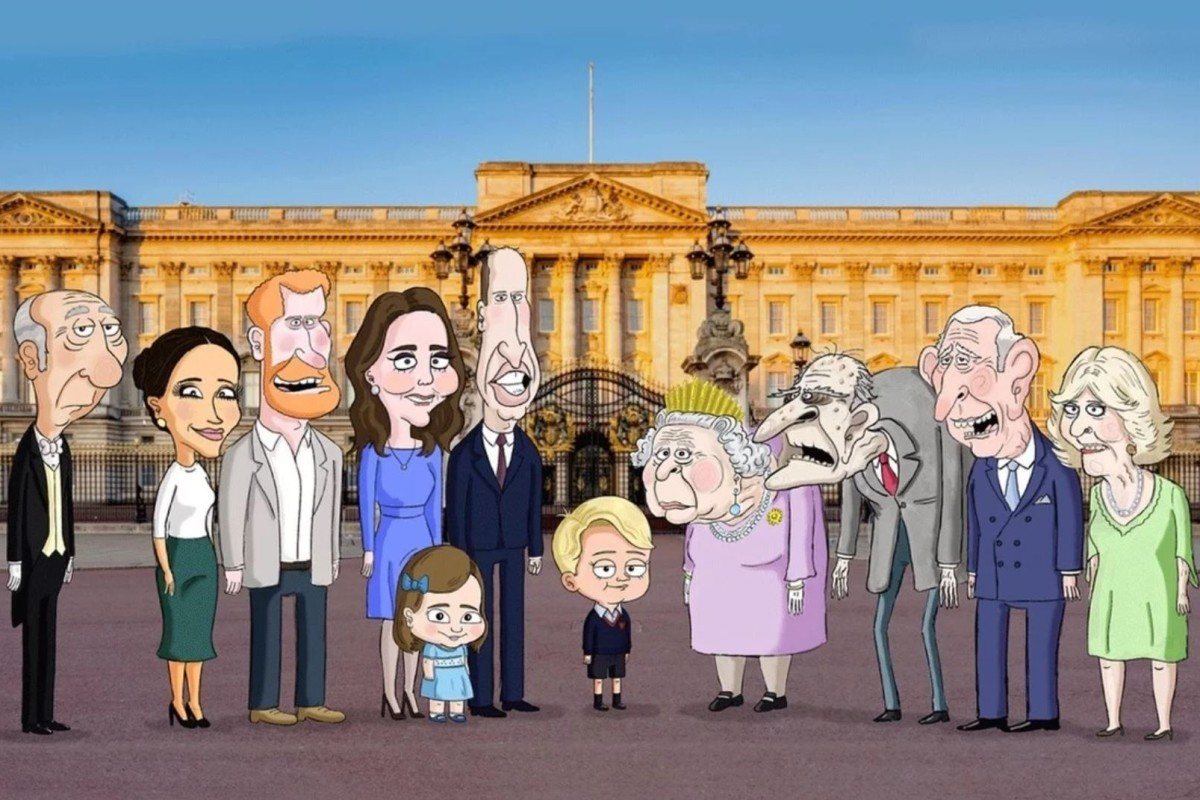 Why Are Queen Elizabeth Meghan Markle And Kate Middleton Getting So Animated Hbo Max Cartoon The Prince To Explore The Life Of British Royalty With Orlando Bloom Voicing Prince Harry