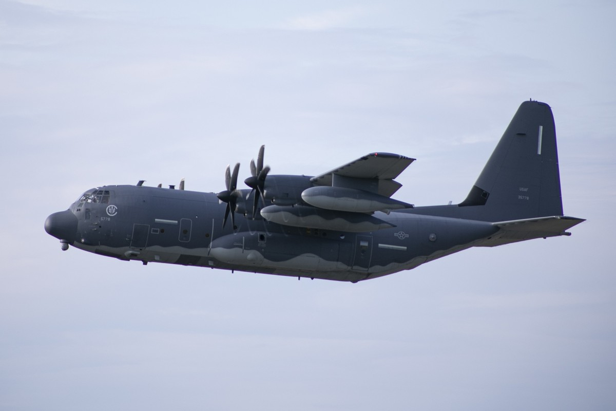 Two US MC-130J surveillance planes flew from the Kadena Air Base in Okinawa over the Taiwan Strait. Photo: US Special Operations Command