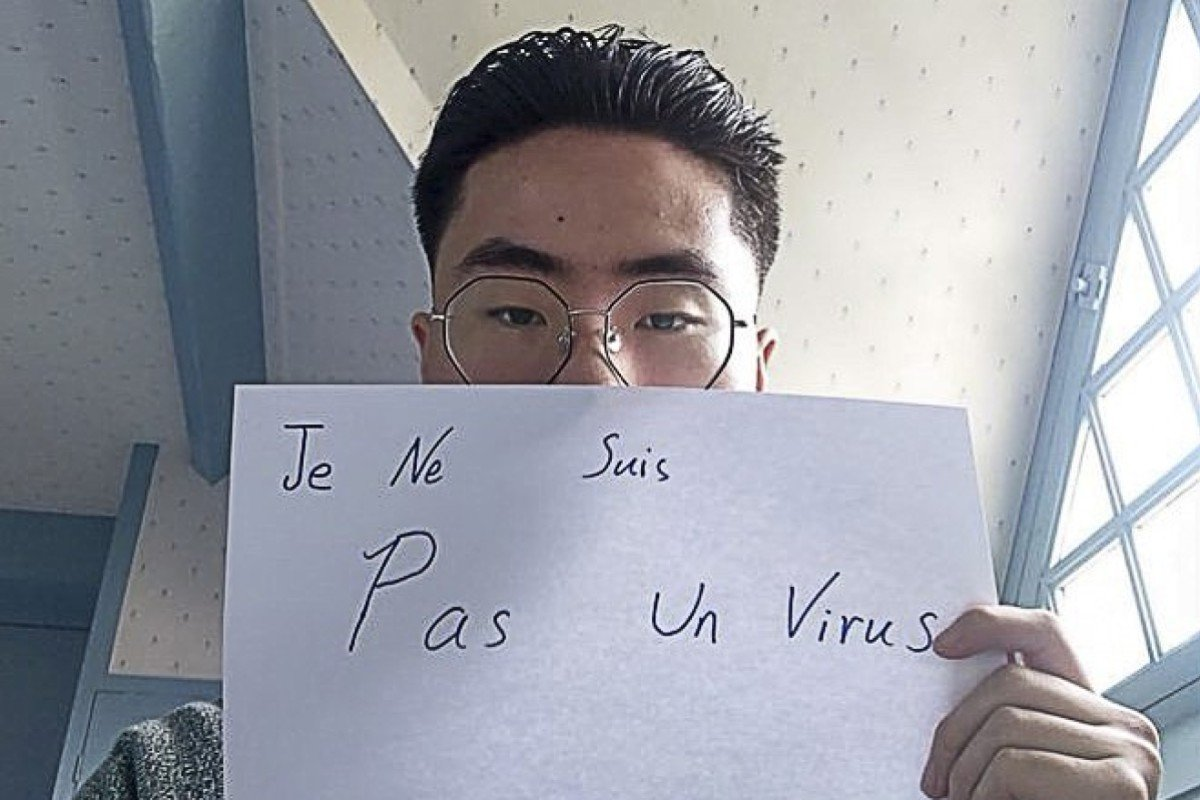 """Social media campaigns such as """"Je Ne Suis Pas Un Virus"""" (""""I am not a virus""""), a hashtag started by Asian people in France to combat xenophobia, have inspired others to take a stand against the growing climate of fear and mistrust. Photo: Twitter"""