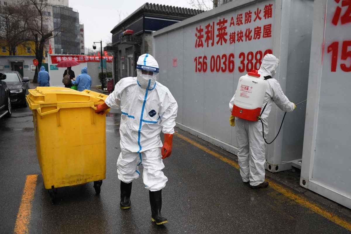 Many health workers are thought to have been infected at the start of the outbreak. Photo: AFP