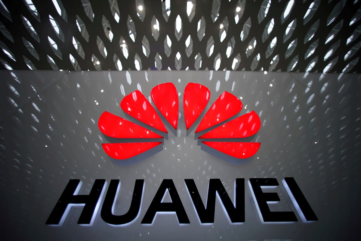 A Huawei company logo is pictured at the Shenzhen International Airport in Shenzhen, Guangdong province, China July 22, 2019. Photo: Reuters