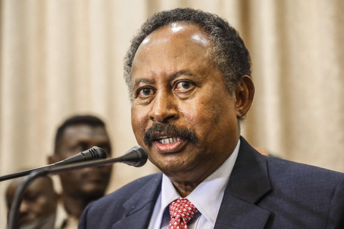 Sudanese Prime Minister Abdalla Hamdok. Photo: AP