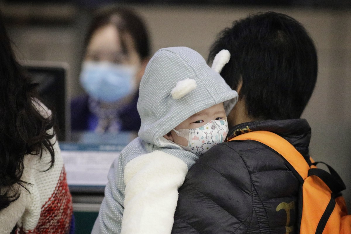 Researchers in Guangdong looked at the cases of 10 children infected with the coronavirus. Photo: EPA-EFE