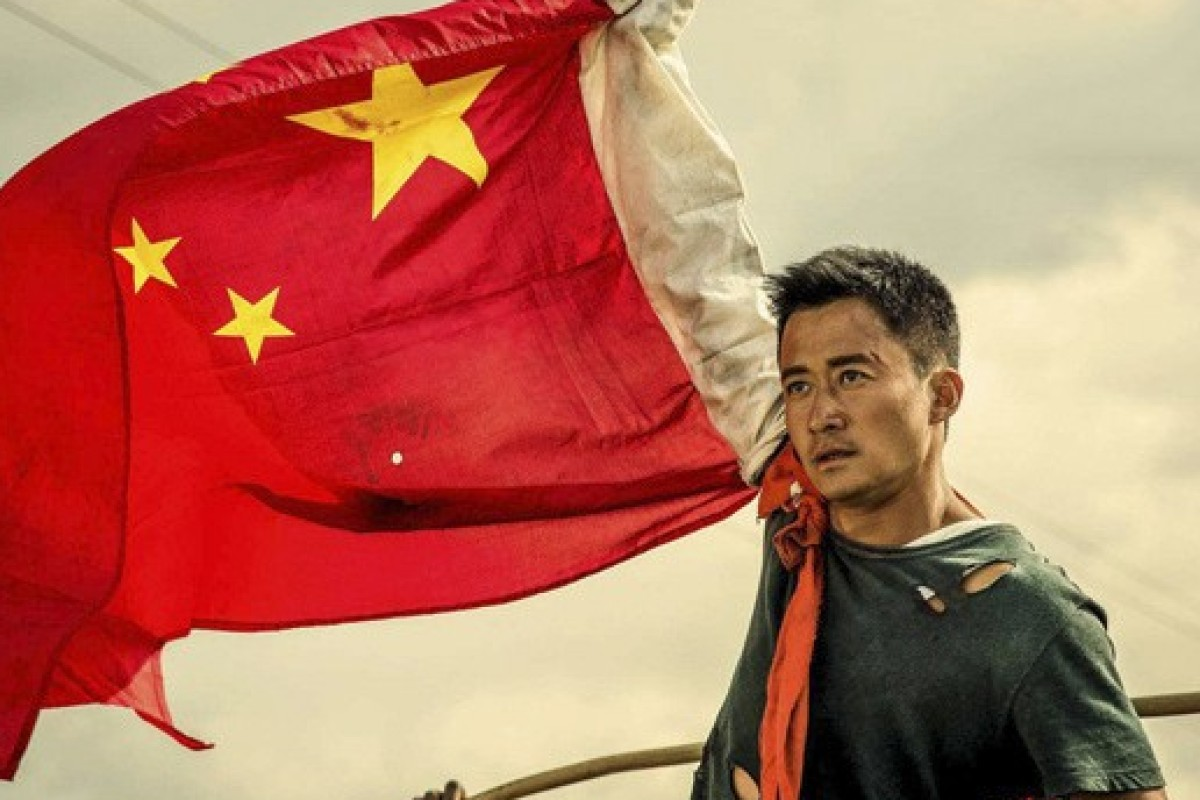 Actor Wu Jing as the Wolf Warrior, title character in a Chinese film of the same name, which is also being used to describe the aggressive diplomats trying to change the narrative on China's handling of the coronavirus pandemic. Photo: Handout