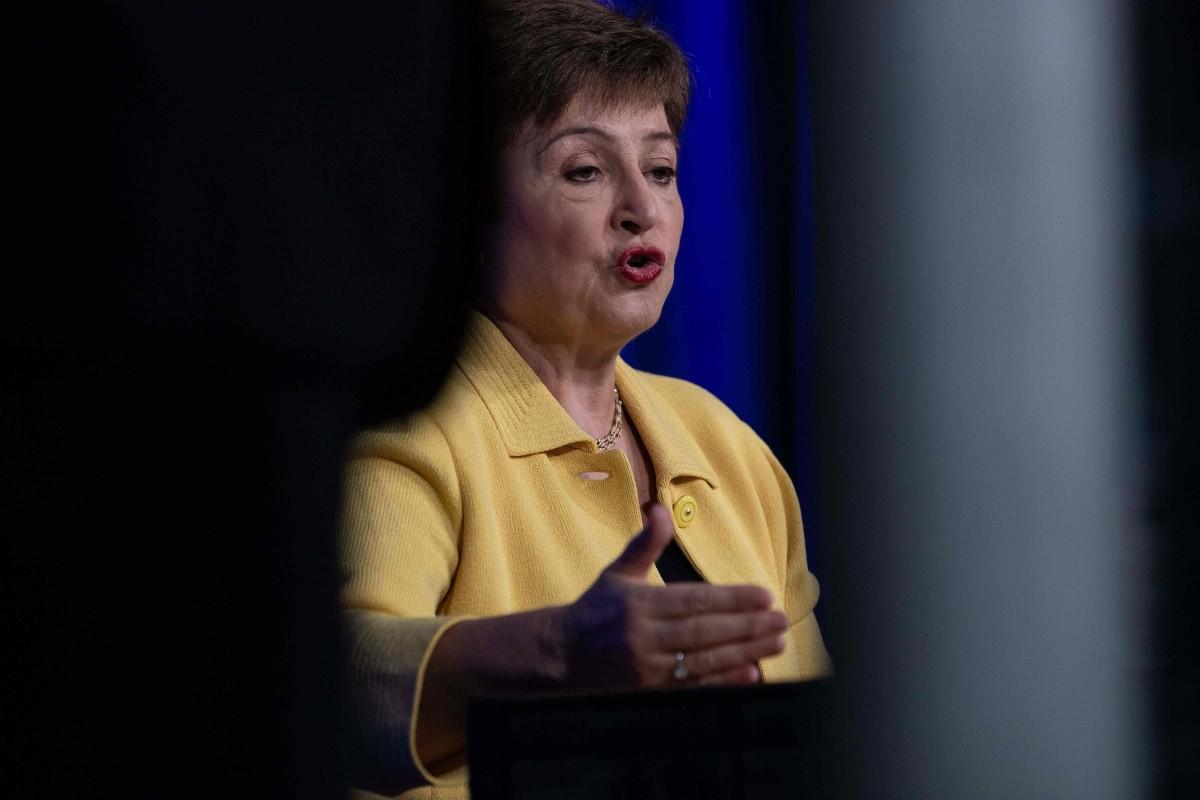 IMF Managing Director Kristalina Georgieva. Photo: AFP