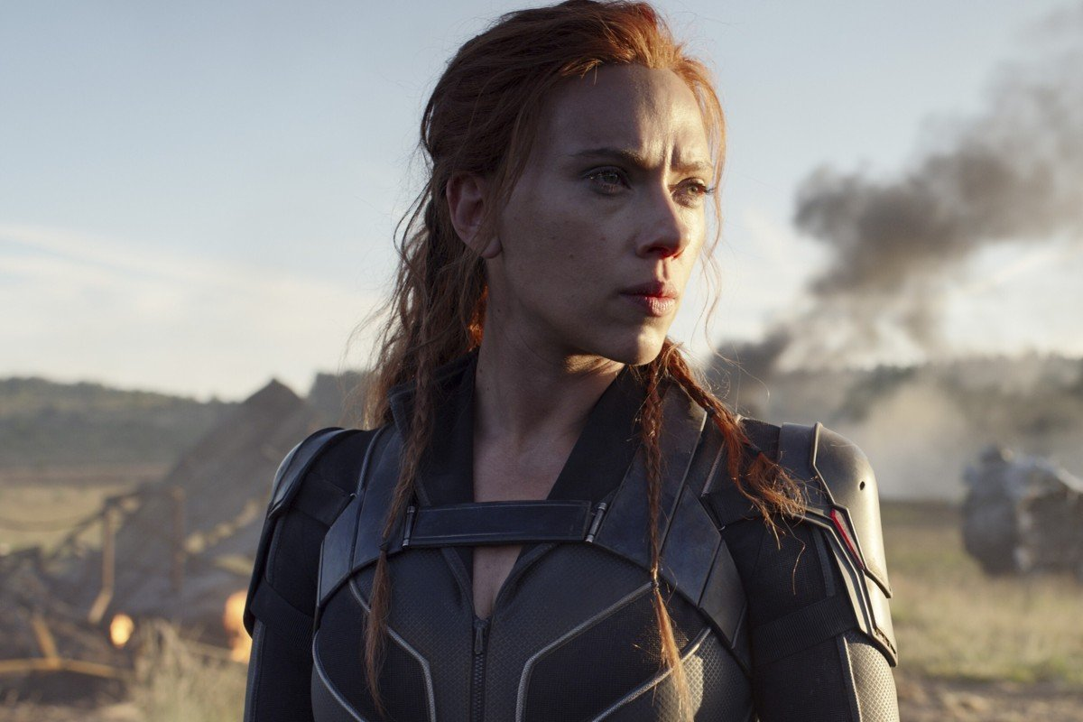 Scarlett Johansson stars in Black Widow. The films release has been pushed back to November 6 after it was originally to hit cinemas on May 1.