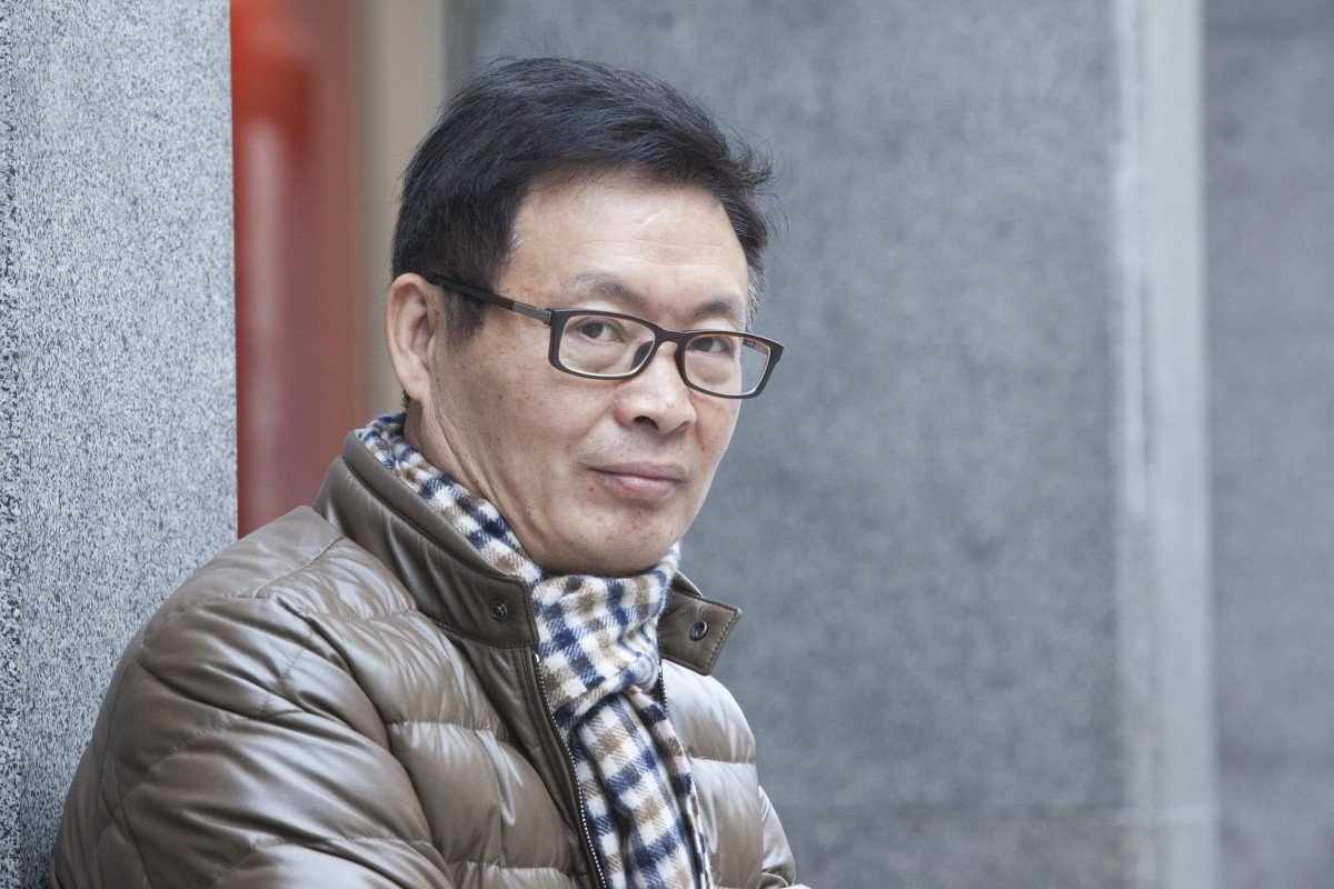 Chinese author Mai Jia, whose best-selling novel The Message was recently translated in to English. Photo: Getty Images