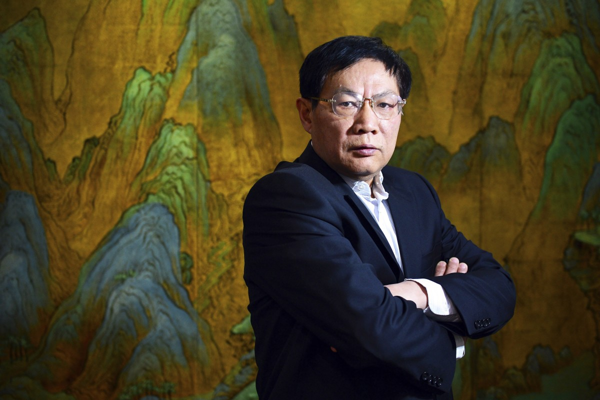 Chinese real estate mogul Ren Zhiqiang, shown in 2012, is under investigation, according to the Commission for Discipline Inspection of the Communist Party in Beijing. Photo: Color China Photo via AP
