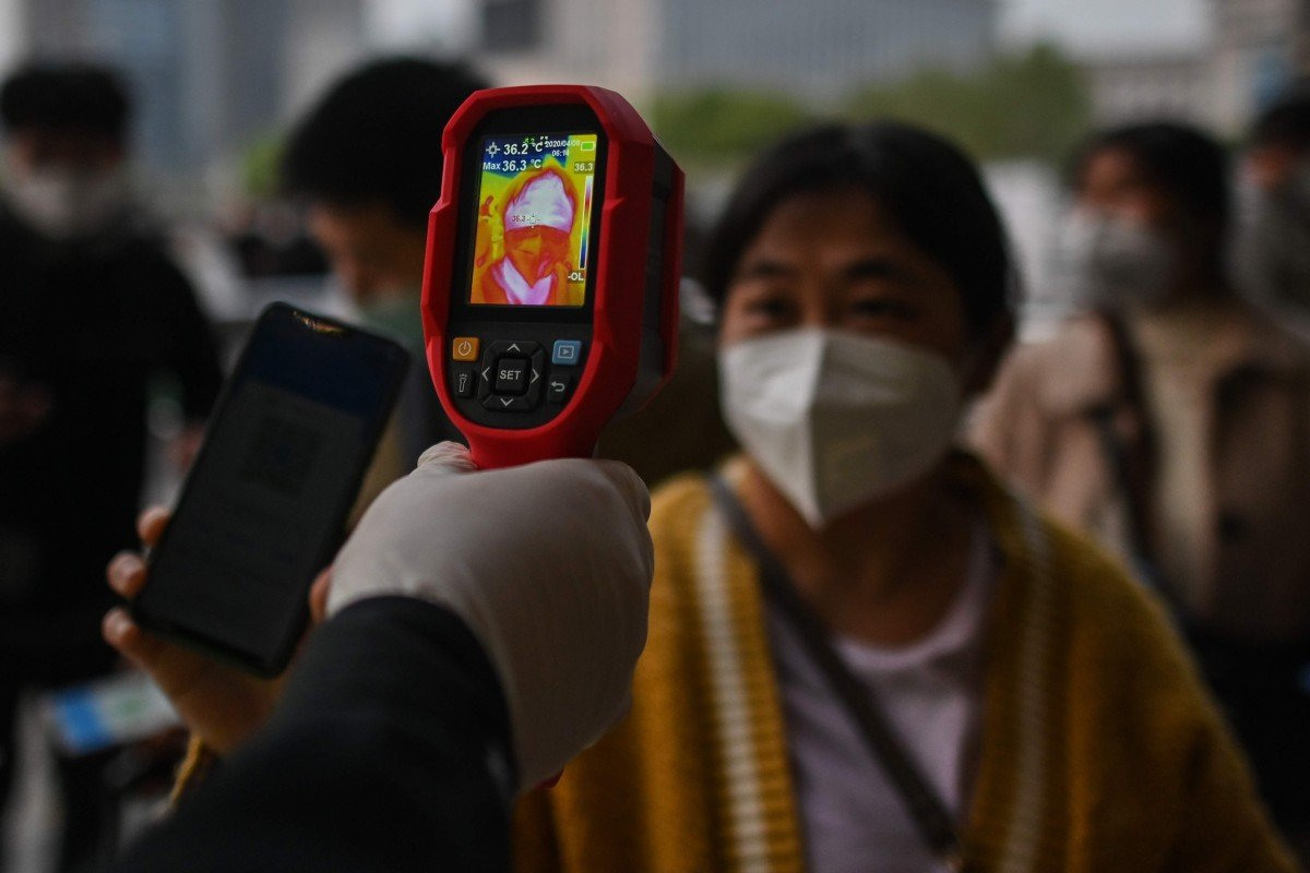 China on Wednesday released its first figures for asymptomatic coronavirus cases. Photo: AFP