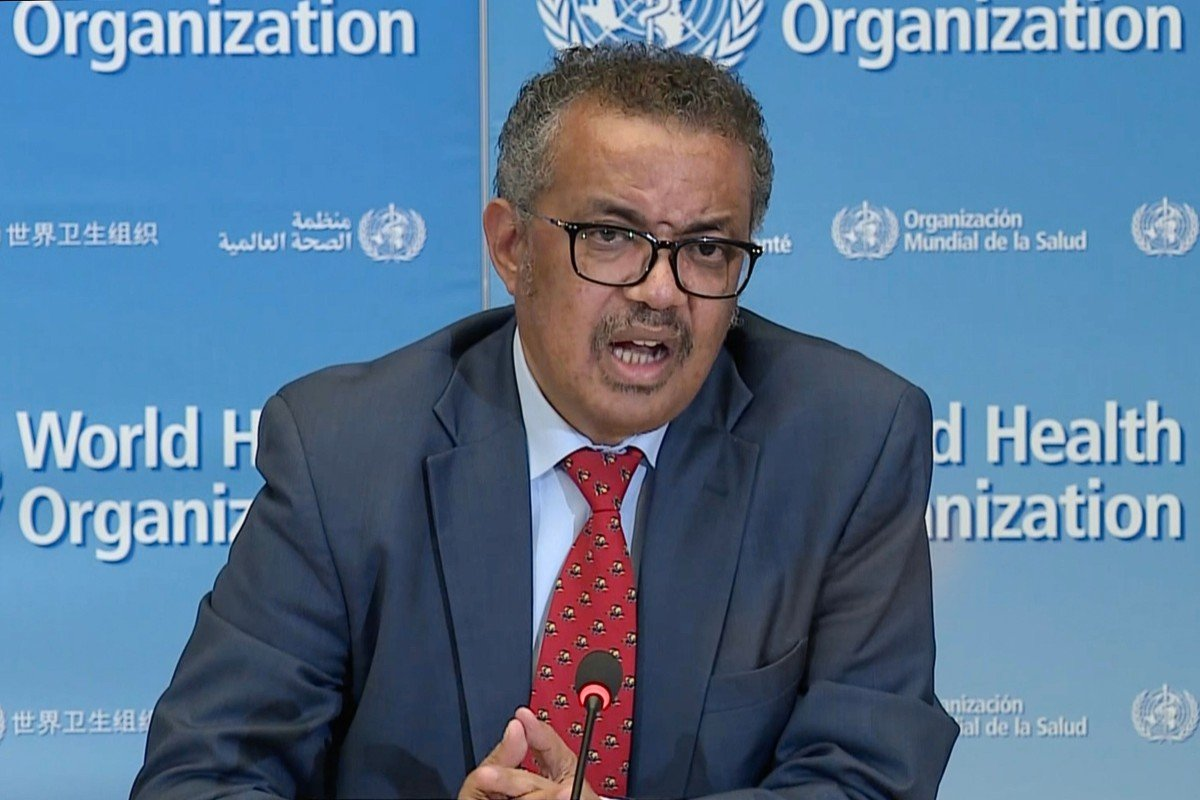 World Health Organisation chief Tedros Adhanom Ghebreyesus. Photo: AFP