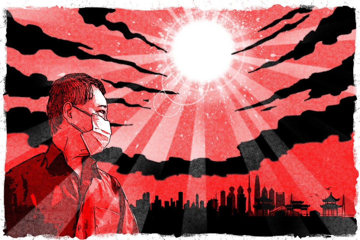 People at epicentre of China's crisis look for explanations. Illustration: Henry Wong
