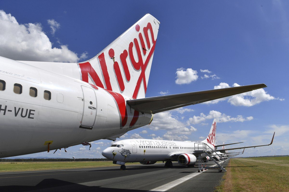 Virgin Australia had more than A$5 billion (US$3.2 billion) in debt as of the end of 2019. Photo: AP