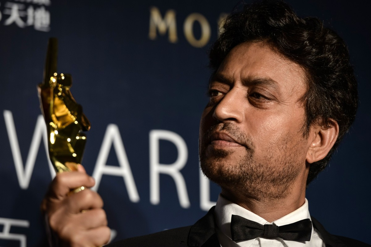 Indian actor Irrfan Khan, who starred in movies like Slumdog ...