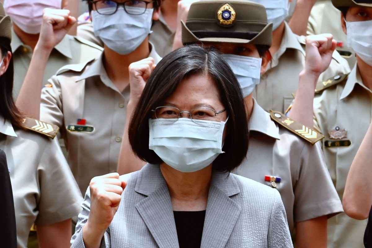 Taiwan President Tsai Ing-wen's administration is close to Washington, which has added to tensions in US-China relations. Photo: AFP