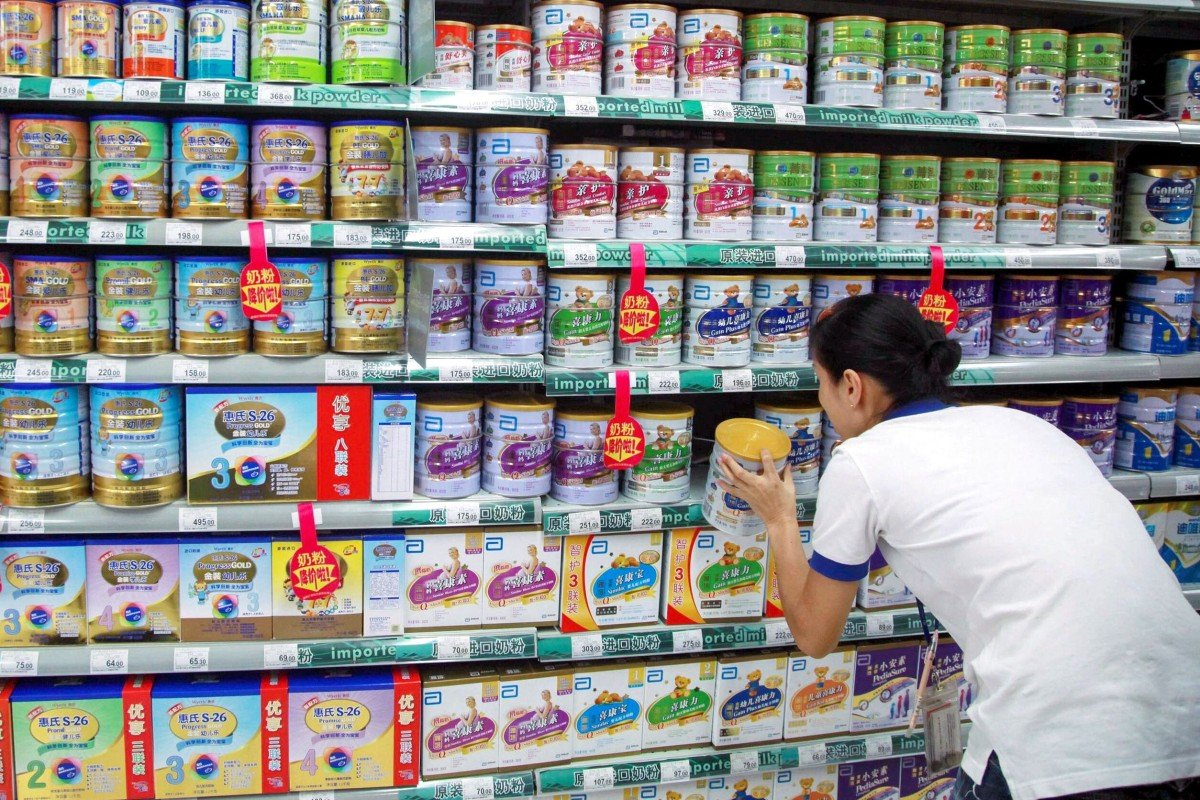 Exports of Australian whey protein milk powder to China tripled in March from February to more than 1,000 tonnes, according to data from the Australian Bureau of Statistics collected by industry group Dairy Australia. Photo: AFP